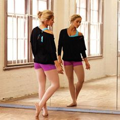Ballet is my choice fitness this fall! I am taking it as an elective this semester at college.          (Lorna Jane's New Fall Fitness Fashions)