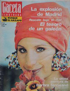 1973-07-08 Barbara Streisand. Solo el pasado es cierto. La esencia de la fotografía es precisamente esa obstinación del referente en estar siempre ahí.