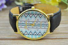 Black leather bracelet  fashion jewelry wrist by BraceletTribal, $6.99 Beautiful handmade watch leather bracelet