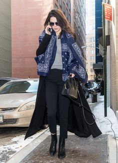 Celebrity Sightings - February 18, 2015 - Fall 2015 Mercedes-Benz Fashion Week