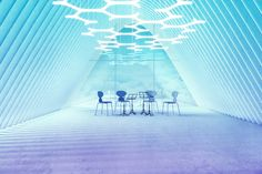 Two Parts - Carbon Led Fixtures, Ceiling Canopy, Color Rendering Index, Clear Acrylic, Art Gallery, Environment, Fair Grounds, Lighting Ideas, Travel