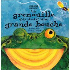 Migette conte aux enfants: La grenouille à grande bouche de Keith Laukner et Jonathan Lambert