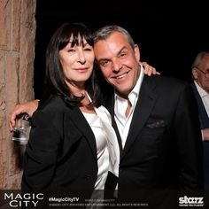 Angelica and Danny Huston....siblings