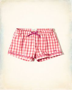 Gilly Hicks Sleep Shorts
