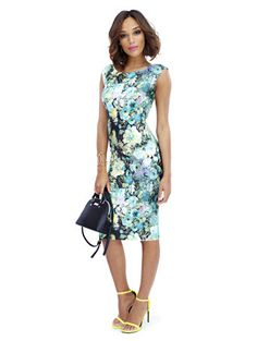 Shop Scuba Midi Sheath - Floral Print. Find your perfect size online at the best price at New York & Company.