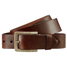 Timberland Men s Buffalo Leather Belt Dark Brown Timberland Mens 22464a4a3d9