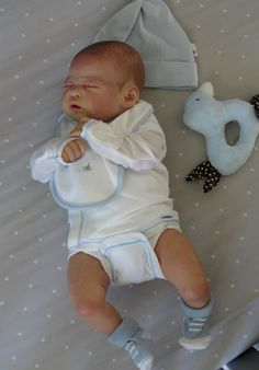 Beautiful Reborn Baby Boy Doll Paris Sam S Reborn