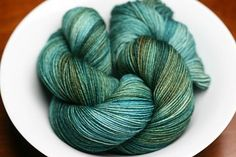 Delicious Merino Nylon Sock - Colorway: Low Tide. Sock yarn from Fiberphile - 420 yrds for $23.00