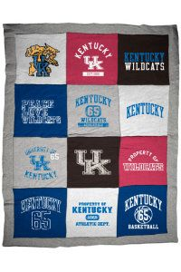 Cuddle up with this fun Kentucky throw! Product: UK Wildcats 62'' x 80'' Blanket