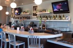 Dining room at The Counter, Roswell, GA