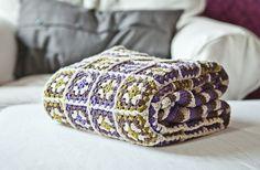 granny square blanket <3