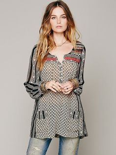 Feather in the Wind Tunic by Free People