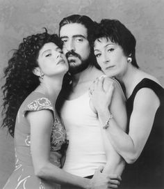 Still of Alfred Molina, Marisa Tomei and Anjelica Huston in The Perez Family (1995)