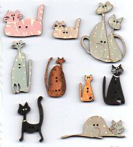 theodora cleave: cats are special...Barb Smith designs