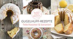 Gugelhupf-Rezepte Kitchen Aprons, Camembert Cheese, Brunch, Sweets, Bread, Snacks, Cookies, Baking, Germany