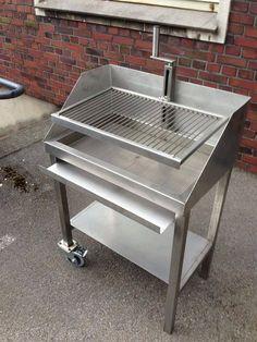 steel charcoal grill ...repinned für Gewinner! - jetzt gratis Erfolgsratgeber sichern www.ratsucher.de