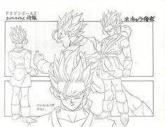 Dragon Ball - Model Sheet 137   Dragon Ball Art Concepts Mod…   Flickr