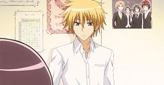 Anime Screencap and Image For Maid Sama Anime Guys, Manga Anime, Anime People, Hot Anime, Best Romantic Comedy Anime, Maid Sama Manga, Usui Takumi, Magical Warfare, Ouran Highschool