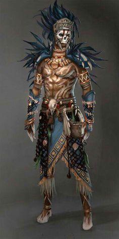 Barbarian druid