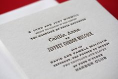 Oh So Beautiful Paper: Wedding Invitations – Page Stationery