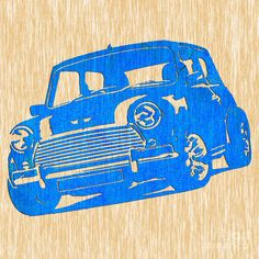 Classic Mini Cooper Art Print by Marvin Blaine. All prints are professionally printed, packaged, and shipped within 3 - 4 business days. Choose from multiple sizes and hundreds of frame and mat options. Thing 1, Printing Companies, Classic Mini, All Print, Fine Art America, Giclee Print, Design Art, Poster Prints, Quilt