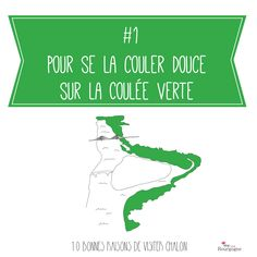 Les 10 bonnes raisons de visiter Chalon-sur-Saône : Pour se la couler douce sur la coulée verte