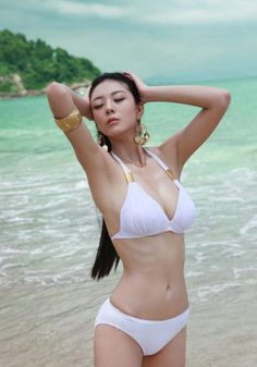 Ai Shan Zhen, super model,singer,actress,compere of China.