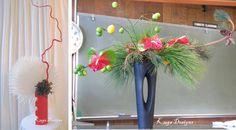 Image result for sogetsu christmas arrangements