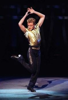 Michael Flatley:  For Dance & Story Telling therefrom - Big Thumbs up from The Holy Spirit.