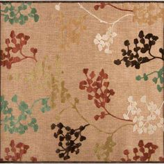Tonala Natural 7 ft. 6 in. x 7 ft. 6 in. Square Area Rug
