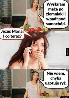 nie ma tu co opisywac # Losowo # amreading # books # wattpad Funny Photos, Funny Images, Cool Photos, Hahaha Hahaha, Polish Memes, Weekend Humor, Funny Mems, Got Memes, Funny True Quotes