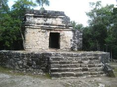 San Gervasio Ruins: Nohoch Nah Temple