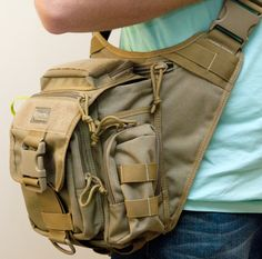 I've always wanted something that is rugged enough for hard use, has enough space for my large DSLR, but isn't too bulky to carry or cumbersome for short hikes. Maxpedition's Jumbo Versipack seems to meet my requirements. It strikes the right balance between size and cargo room.