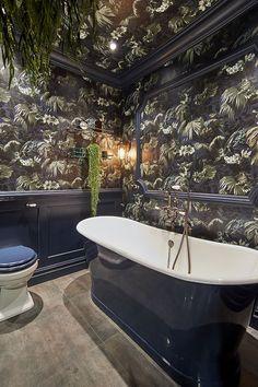Hart and House of Hackney bold boho bathroom C. Hart and House of Hackney