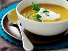 Spicey pumpkin soup