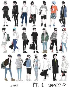 ideas drawing poses male anime character design references for 2019 Fashion Design Drawings, Fashion Sketches, Drawing Fashion, Art Reference Poses, Drawing Reference, Design Reference, Kleidung Design, Drawing Anime Clothes, Clothes Design Drawing