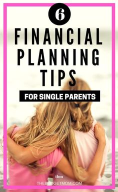 6 Financial Planning Tips for Single Parents As a single parent, you can face unique challenges that can feel overwhelming, and money management is no exception. Here are six tips you can use to stay on top of your finances. - The Budget Mom Planning Budget, Financial Planning, Financial Assistance, Financial Budget, Financial Literacy, Budgeting Finances, Budgeting Tips, Money Tips, Money Saving Tips