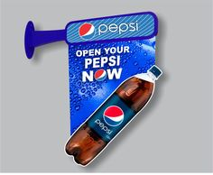 Pepsi Out-Shop Availability Sign (different Artwork); Designed & Produced by Display Power Global- Pakistan