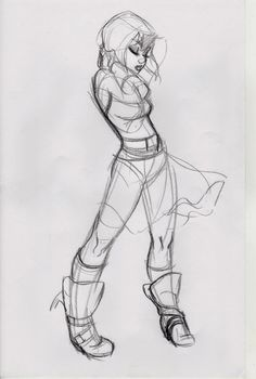 Character Design - Pose, Body, Female