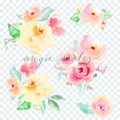 Watercolor Flower Bo