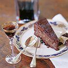 Chocoladetaart met hazelnoot