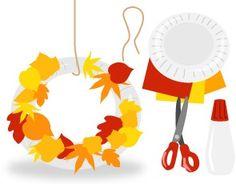 Jesenný veniec Leo, Crafts For Kids, Crafts For Children, Kids Arts And Crafts, Lion, Kid Crafts, Craft Kids