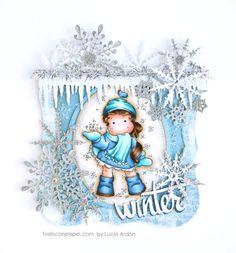Magnolia – Tarjeta de Navidad: Winter « Todo con Papel