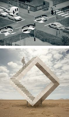 Illusions: Photo Manipulation by Erik Johansson