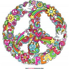 peace sign tattoos - Google Search