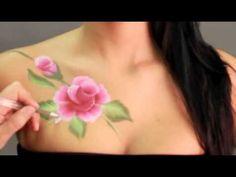 Como pintar en la piel.
