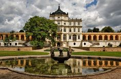 Ploskovice Château - First time it appears is in a supplement to an old Latin text, from the years 1057 – Great Buildings And Structures, Modern Buildings, Modern Architecture, Prague, Dubai Skyscraper, Heart Of Europe, Fairytale Castle, Historical Monuments, Europe Photos