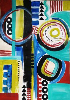 Carol Wheeler, acrylic