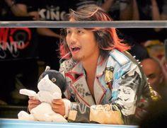 """Hiromu Takahashi with """"Daryl"""". #njpw"""