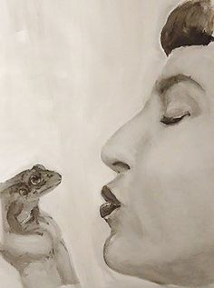Francuski pocałunek - Malarstwo ©2016 przez Olga Sznejder - Art Gallery, Statue, Artwork, Art Museum, Work Of Art, Auguste Rodin Artwork, Artworks, Sculptures, Illustrators